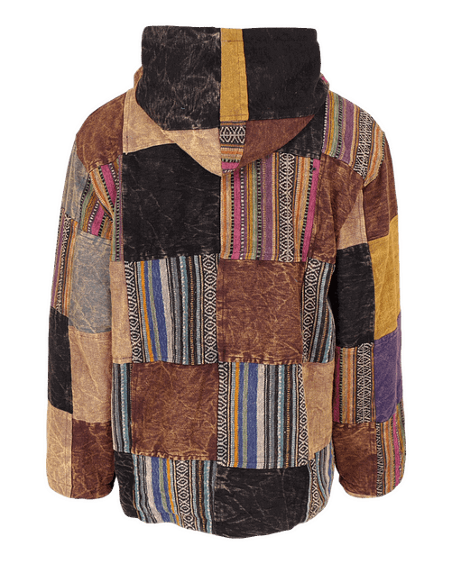 Karma Gear NG1417P Gheri Eco Patchwork Jacket Sustainable Ethical Fairly Traded Recycled