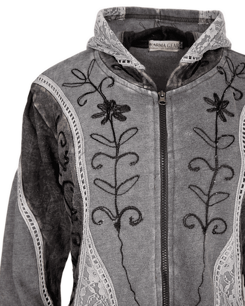 Karma Gear Fantasy Embroidered Jacket PG1706 Handmade and Fairly Traded from Nepal with Love
