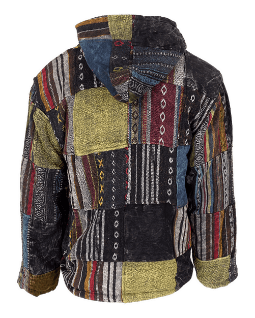 Karma Gear NG1417Z Gheri Eco Patchwork Jacket Sustainable Ethical Fairly Traded Recycled