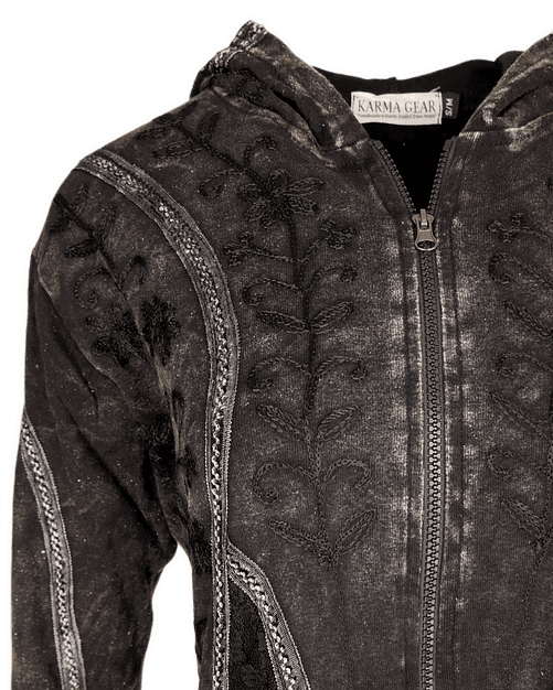 Karma Gear Fantasy Embroidered Light Jacket PG1807 Handamde and Fairly Traded from Nepal
