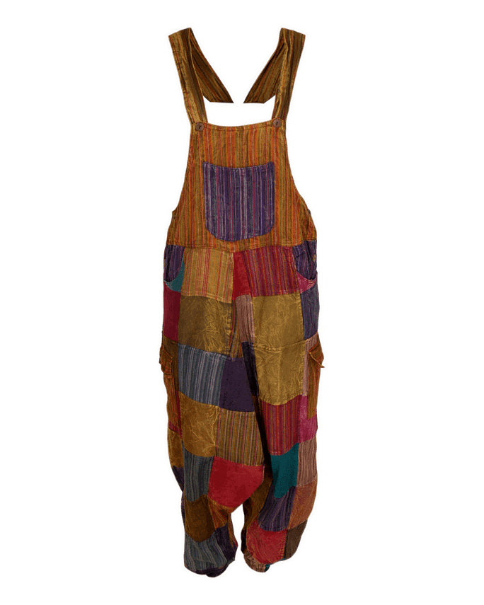 Karma Gear Patchwork Dungarees Handmade and Fairly Traded